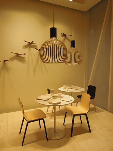 Octo by Arper @ Milano Salone 2013 | Secto Design