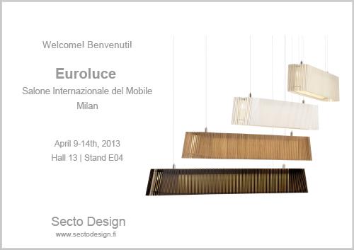 Secto Design @ Euroluce 2013