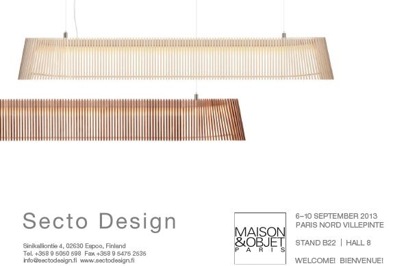 Secto Design @ Maison&Objet 2013 in Paris